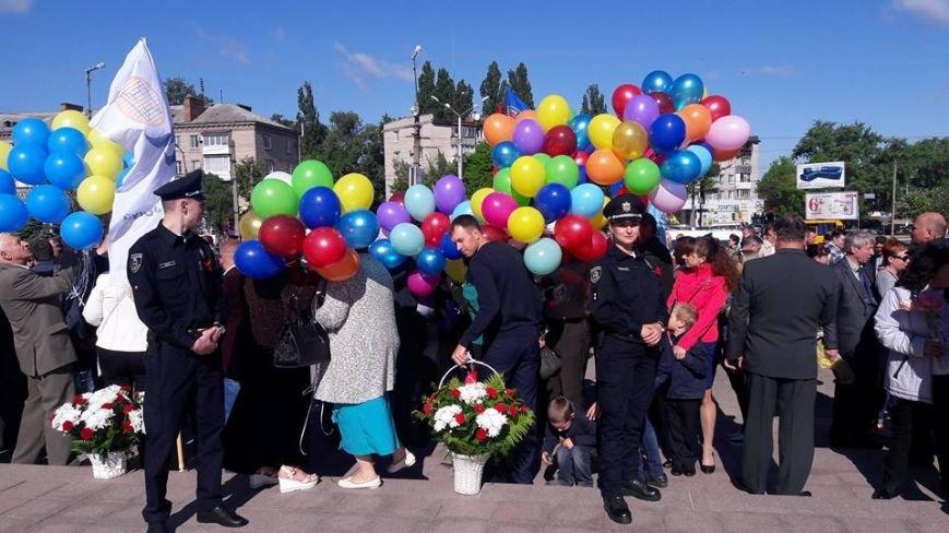 В Кременчуге торжественные мероприятия Дня Победы прошли без провокаций и нарушений общественного порядка, фото-5