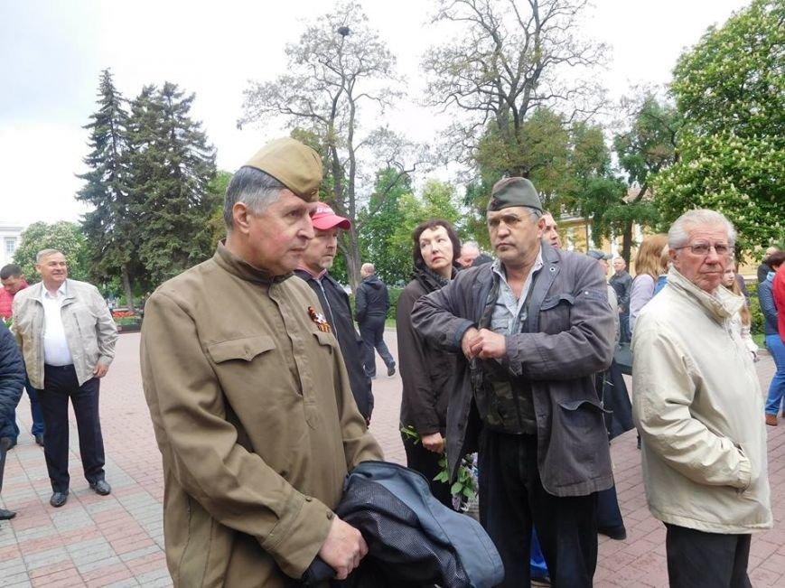 Провокаторы с «георгиевской» ленточкой пытались сорвать в Чернигове 9 мая, фото-2