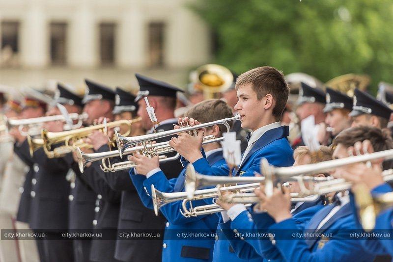 В Харькове прошел парад оркестров (ФОТО), фото-1