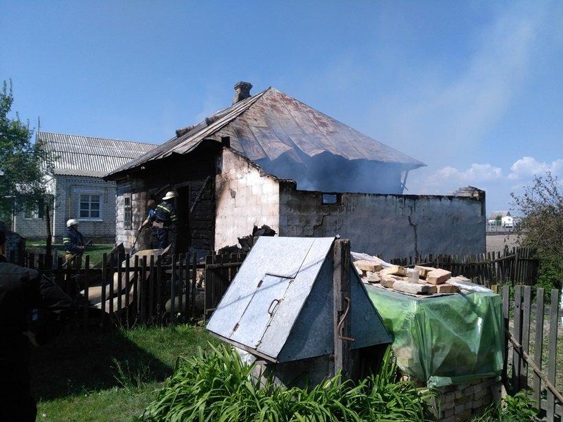 Броварський район: ліквідовано пожежу в господарській будівлі, фото-1