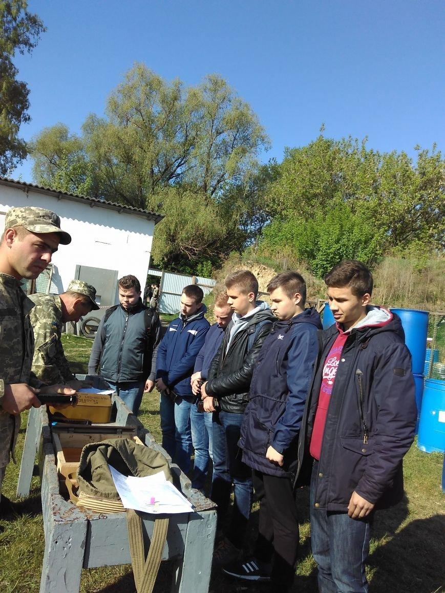 День допризовника - залікові заняття з вогневої підготовки на базі спортивно-стрілецького комплексу СП «Сапсан-Спорт», фото-2