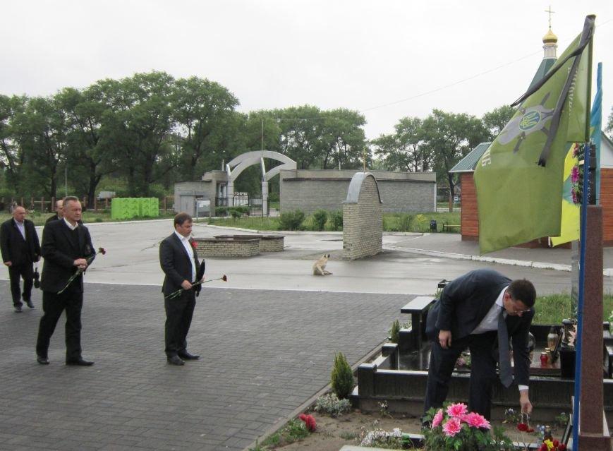 Урочисті заходи з нагоди Дня пам'яті та примирення і 72-ї річниці Дня перемоги у Другій світовій війні у Броварах(фото), фото-3