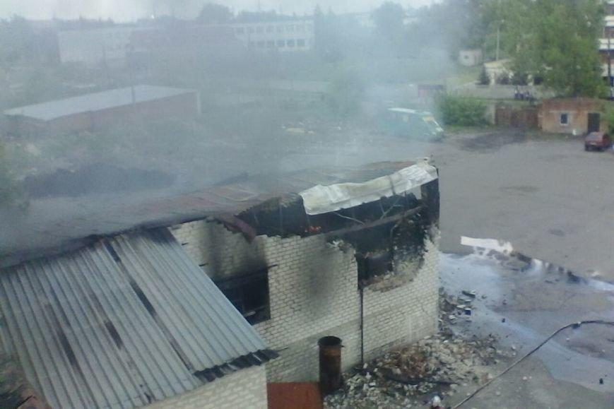 В Харькове горело предприятие по переработке резиновых отходов (ФОТО), фото-4
