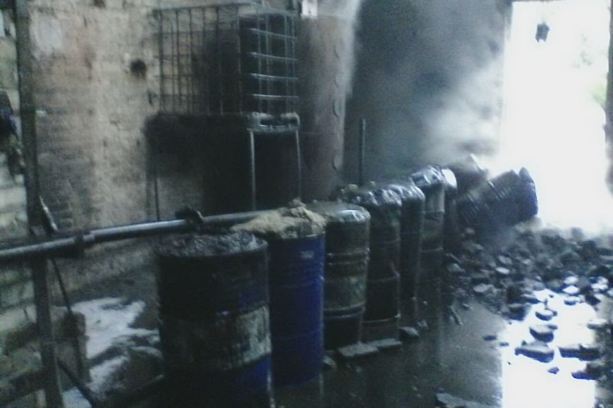 В Харькове горело предприятие по переработке резиновых отходов (ФОТО), фото-3
