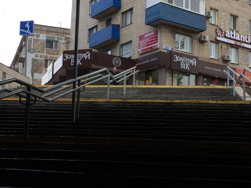 Подземный переход в Мариуполе стал доступнее для людей со слабым зрением (ФОТО), фото-1