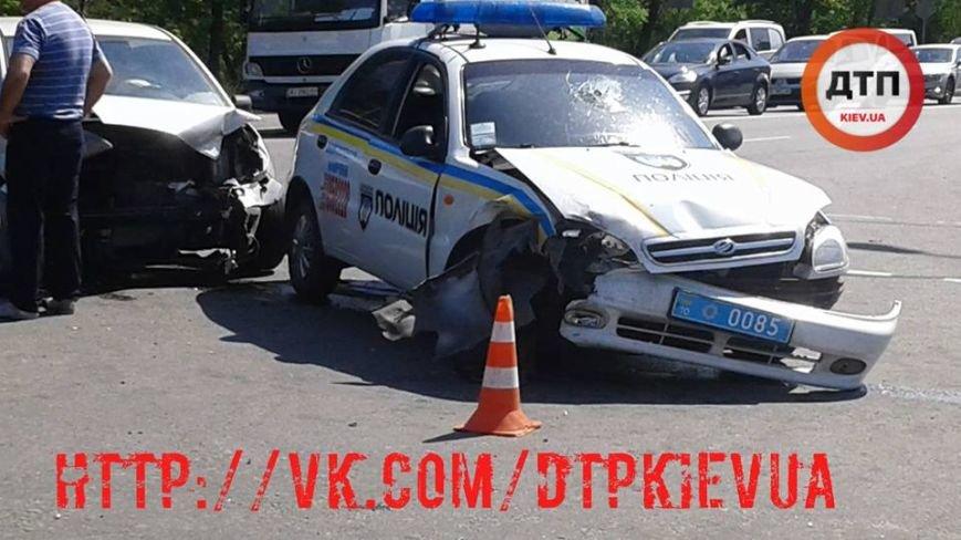 У Броварах поліцейські потрапили в ДТП (ФОТО), фото-1
