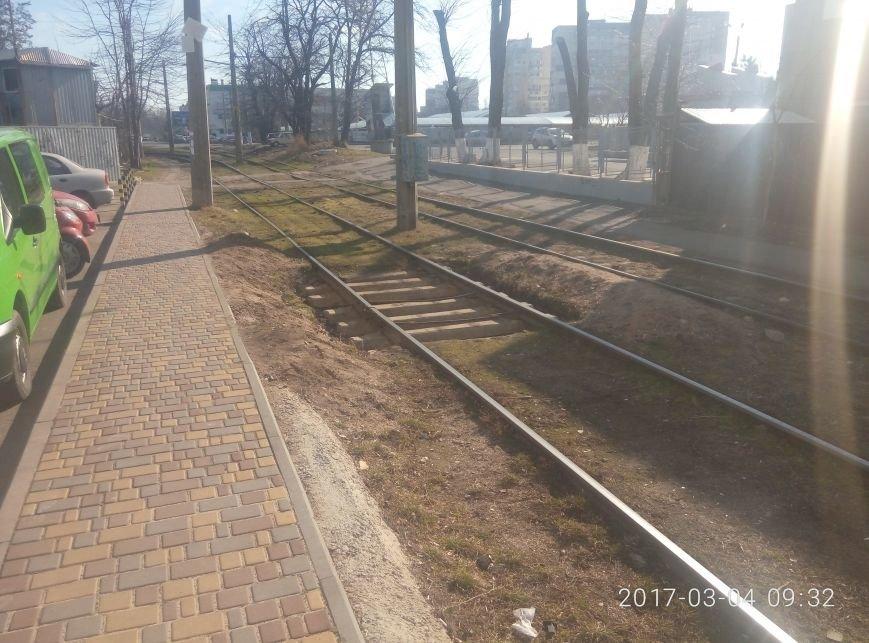 Неожиданно: Как выглядят отремонтированные рельсы одесского трамвая (ФОТО), фото-4