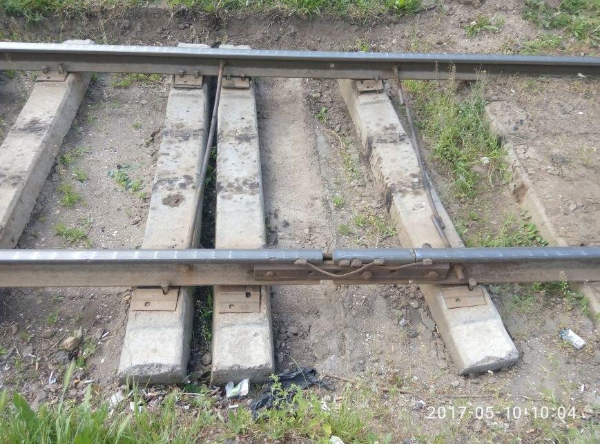 Неожиданно: Как выглядят отремонтированные рельсы одесского трамвая (ФОТО), фото-2