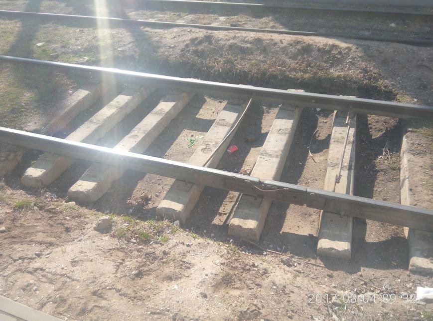 Неожиданно: Как выглядят отремонтированные рельсы одесского трамвая (ФОТО), фото-3