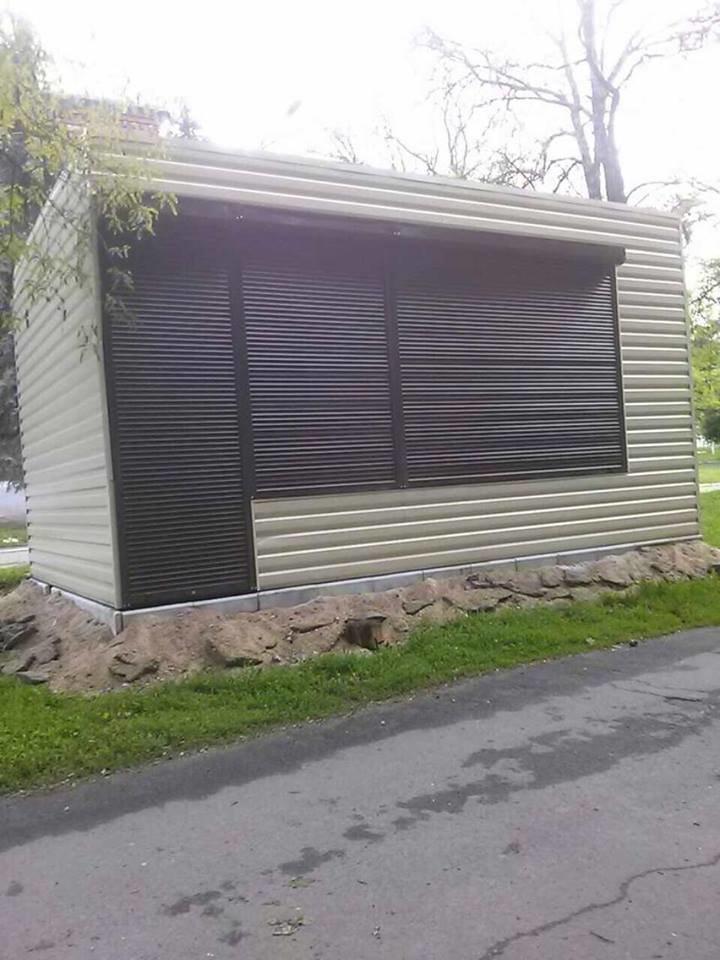 В Мариуполе два неформатных киоска закрыли перспективу пр. Мира (ФОТО), фото-1