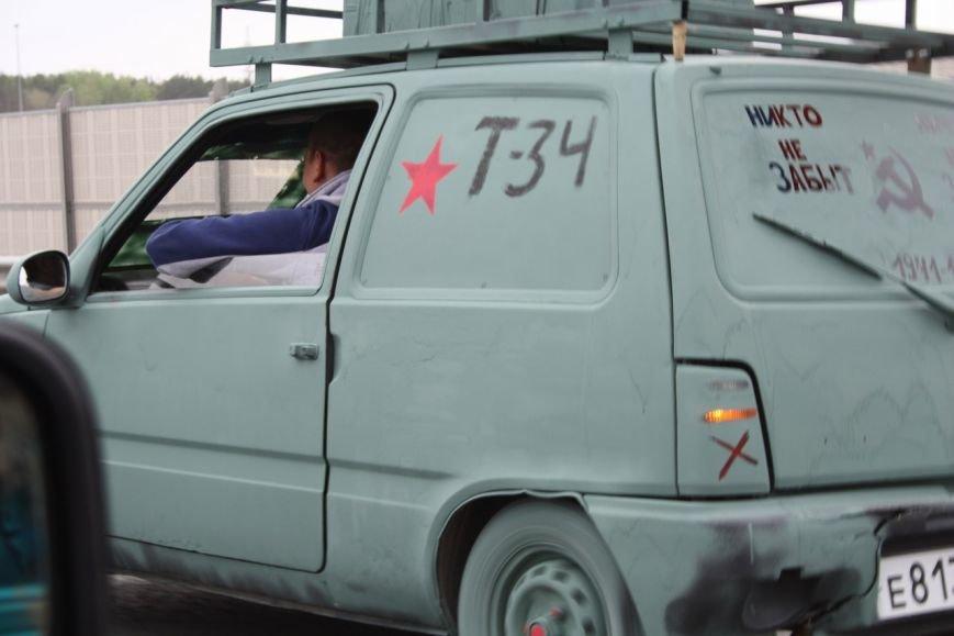 810 автомобилей проехались по Ульяновску в честь Дня Победы. ФОТО, фото-15