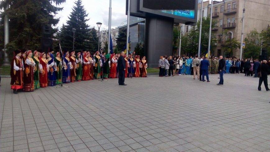 В Харькове торжественно подняли флаг Евросоюза и отметили принятие безвиза (ФОТО), фото-9
