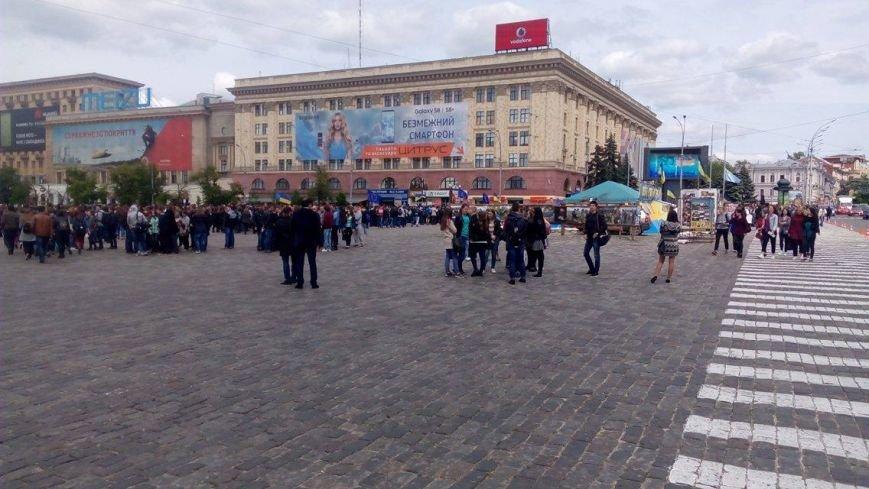 В Харькове торжественно подняли флаг Евросоюза и отметили принятие безвиза (ФОТО), фото-8