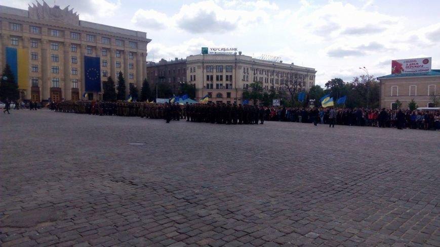 В Харькове торжественно подняли флаг Евросоюза и отметили принятие безвиза (ФОТО), фото-4