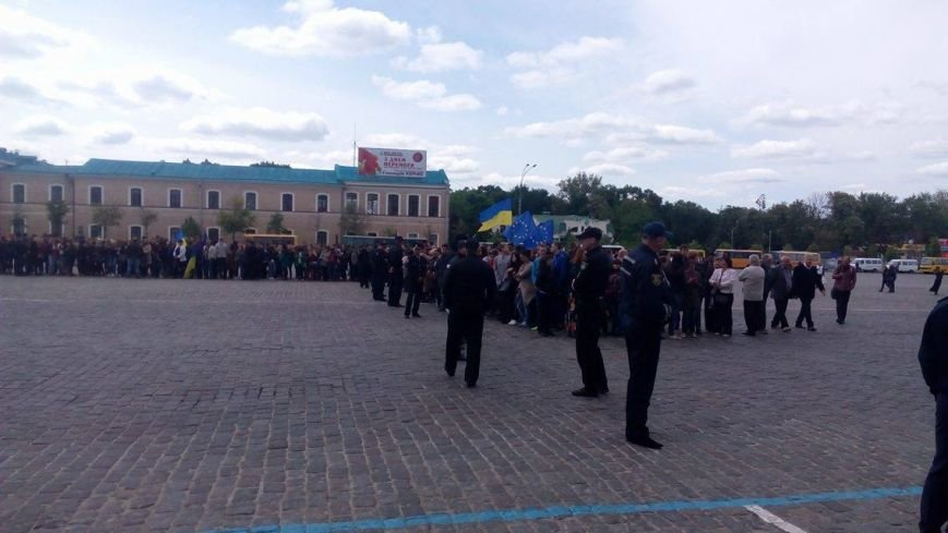 В Харькове торжественно подняли флаг Евросоюза и отметили принятие безвиза (ФОТО), фото-5