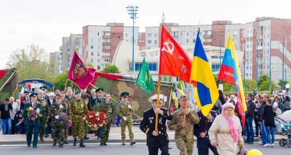 Под Одессой ветеранов водили под запрещенной символикой, фото-2