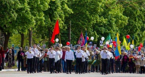 Под Одессой ветеранов водили под запрещенной символикой, фото-1