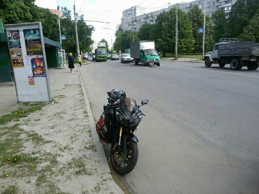 В Харькове мотоциклист сбил женщину-пешехода (ФОТО), фото-2