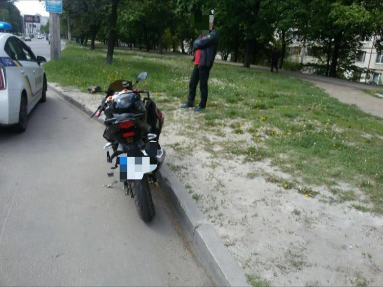 В Харькове мотоциклист сбил женщину-пешехода (ФОТО), фото-1