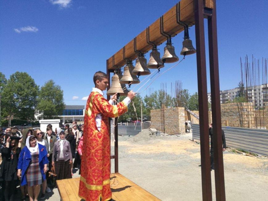 В Симферополе освятили колокола Свято-Екатерининского храма (ФОТОФАКТ, ВИДЕО), фото-2