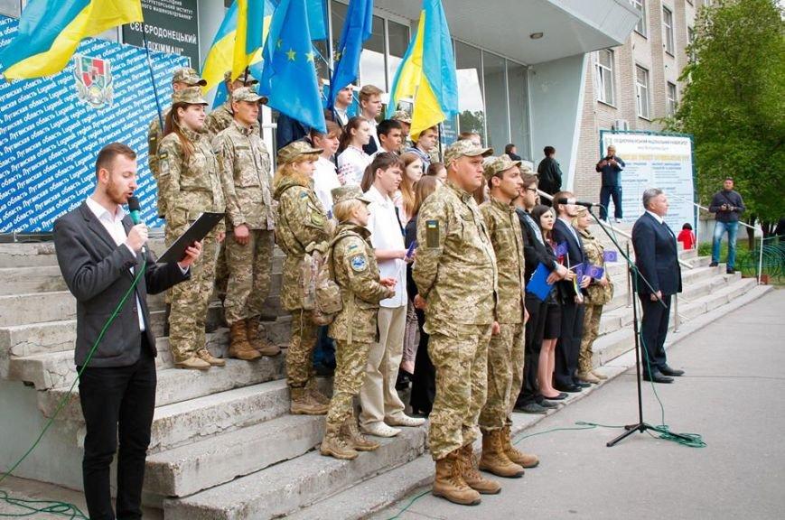 В Северодонецке отметили День Европы в Украине (фото), фото-5