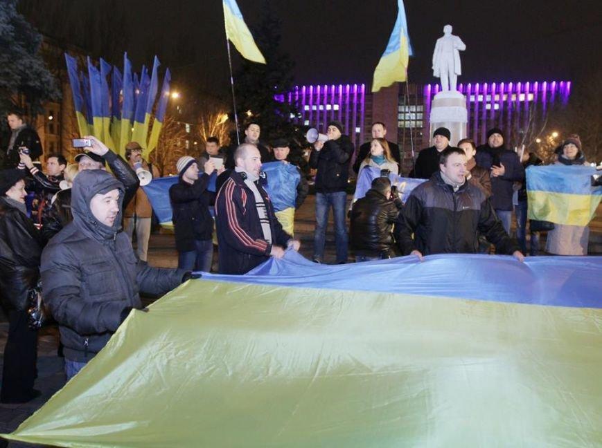 Как это было - дончане в 2013-м поддержали европейский выбор Украины (ФОТО), фото-10