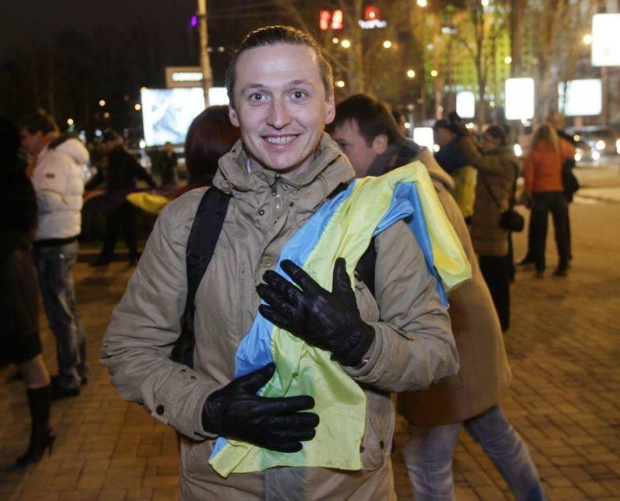 Как это было - дончане в 2013-м поддержали европейский выбор Украины (ФОТО), фото-6