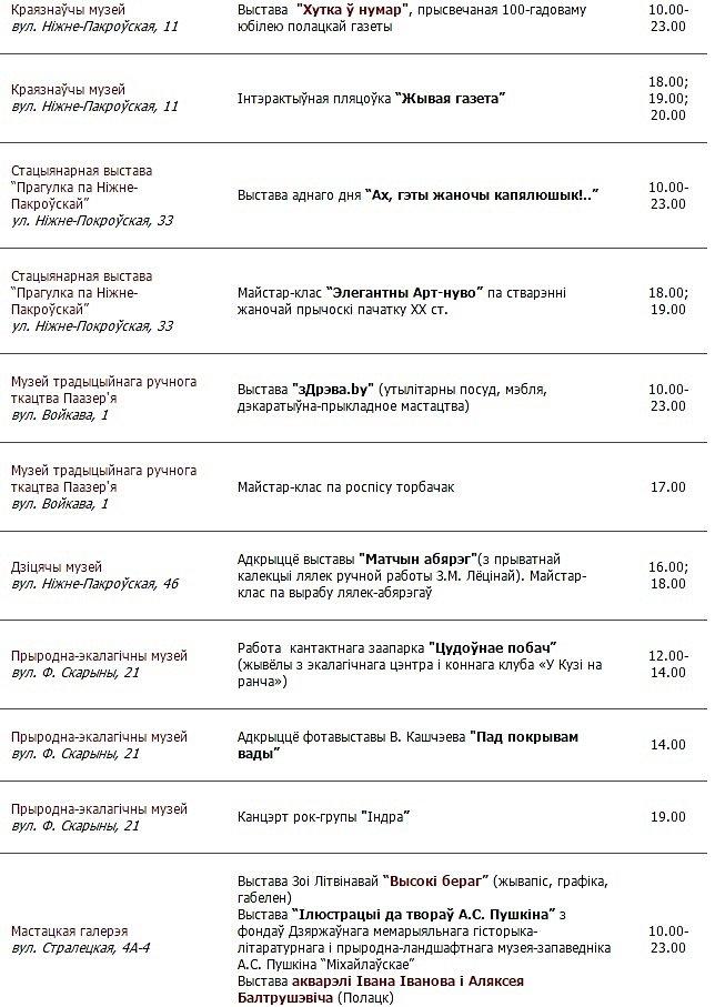 """""""Ночь музеев"""" в Полоцке и Новополоцке: куда сходить, чтобы было интересно?, фото-3"""