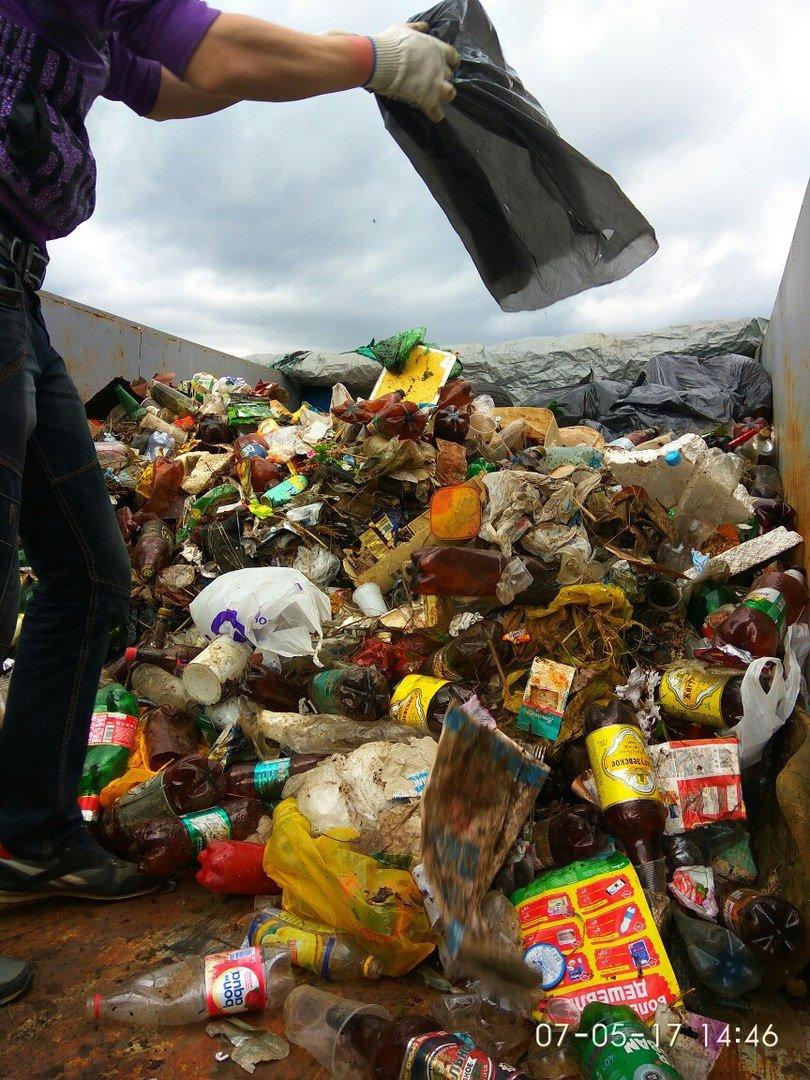 «Радует, что люди приходили семьями, с маленькими детьми». Как прошла акция чистоты в Новополоцке?, фото-6