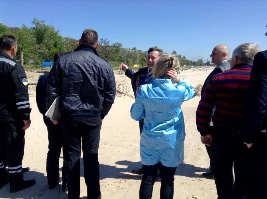 Военные передумали уходить с пляжа пос. Песчаный в Мариуполе (ФОТО, ВИДЕО), фото-3