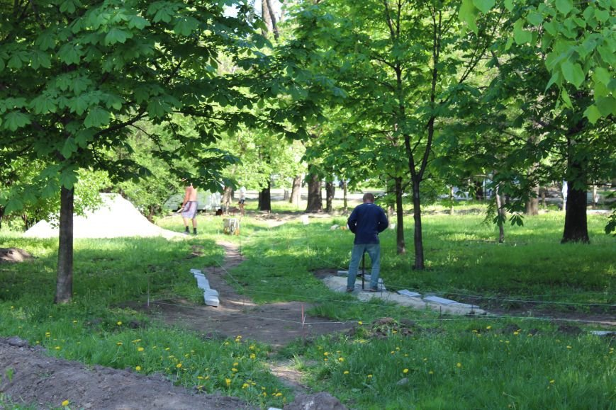 «Незримые» работы в парке Каменского завершаются, фото-17