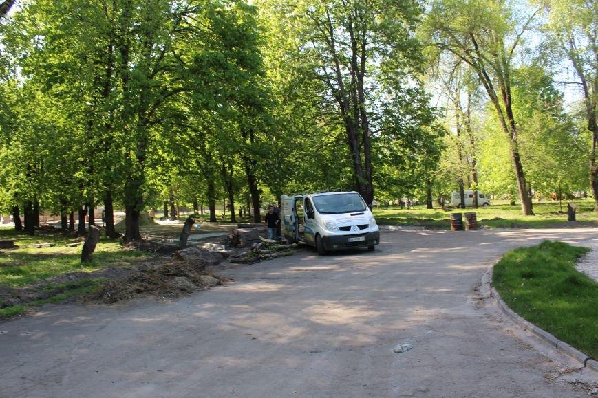 «Незримые» работы в парке Каменского завершаются, фото-14