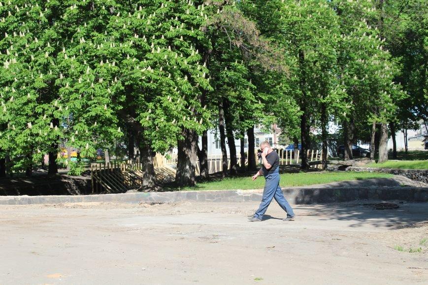 «Незримые» работы в парке Каменского завершаются, фото-13