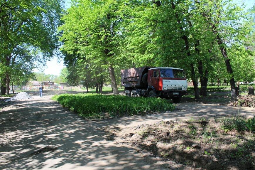 «Незримые» работы в парке Каменского завершаются, фото-15