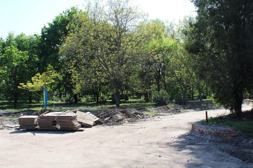 «Незримые» работы в парке Каменского завершаются, фото-7