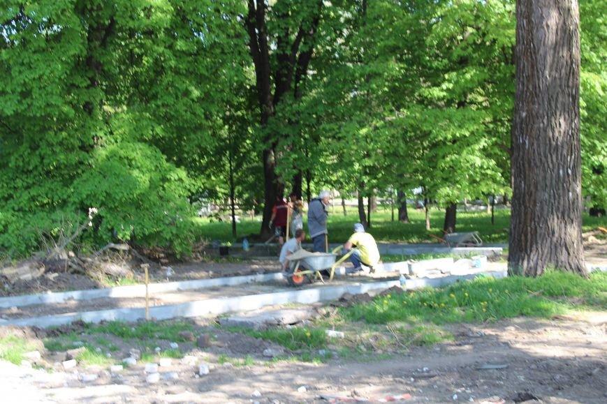 «Незримые» работы в парке Каменского завершаются, фото-16