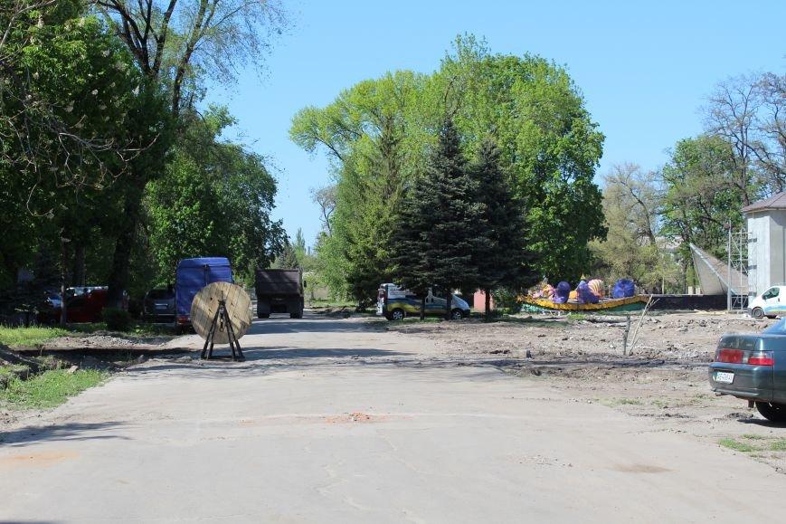«Незримые» работы в парке Каменского завершаются, фото-9