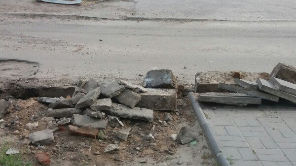 Новые бордюры в городе уже устанавливаются, фото-1
