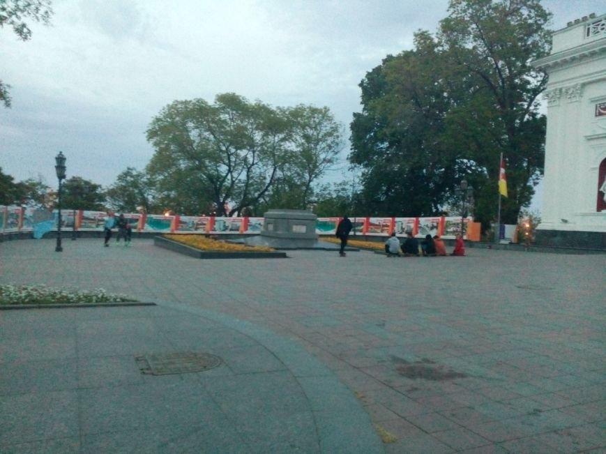 Одесса: С Думской площади пропала пушка (ФОТОФАКТ), фото-1