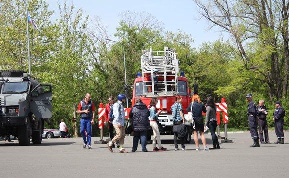 Силовики и спасатели продемонстрировали мощь в одесском парке (ВИДЕО, ФОТО), фото-8