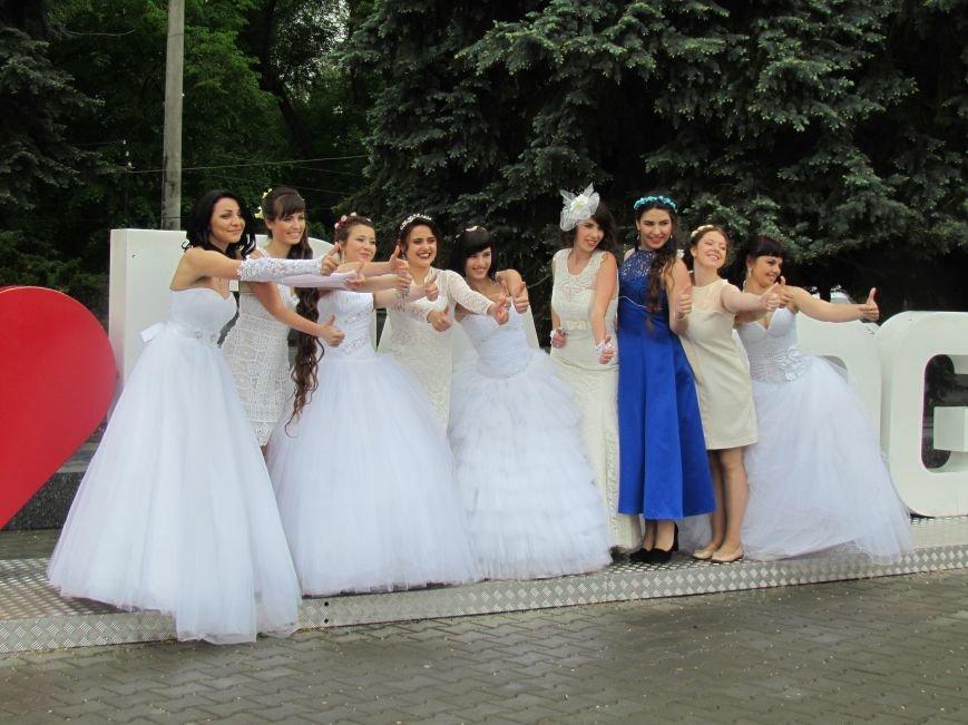 Павлоградские невесты устроили дефиле, фото-2