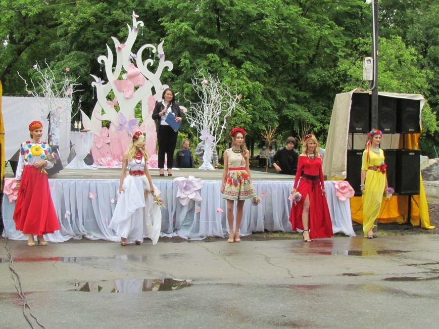 Павлоградские невесты устроили дефиле, фото-12