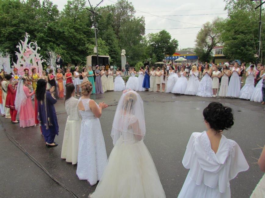 Павлоградские невесты устроили дефиле, фото-1
