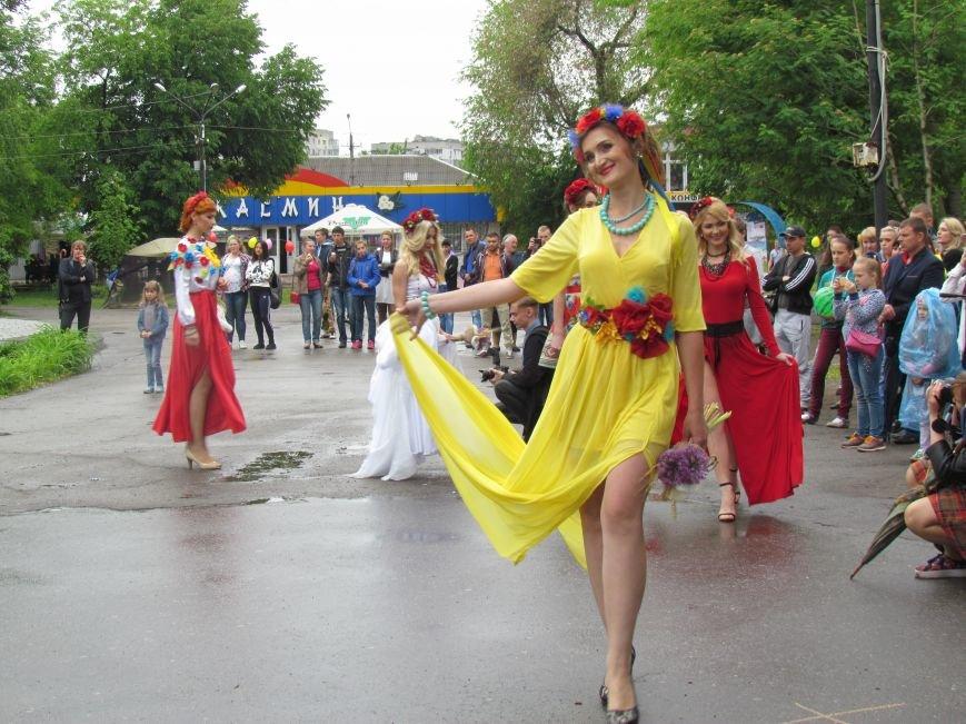 Павлоградские невесты устроили дефиле, фото-3