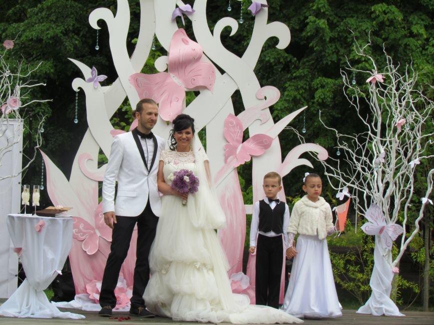 Павлоградские невесты устроили дефиле, фото-5
