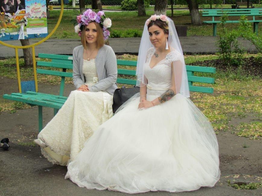 Павлоградские невесты устроили дефиле, фото-9