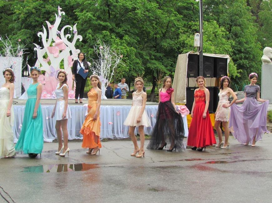 Павлоградские невесты устроили дефиле, фото-10