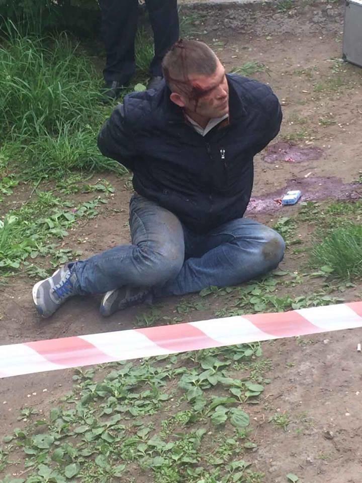 На Днепропетровщине таксисту прострелили обе ноги (ФОТО, ВИДЕО), фото-4