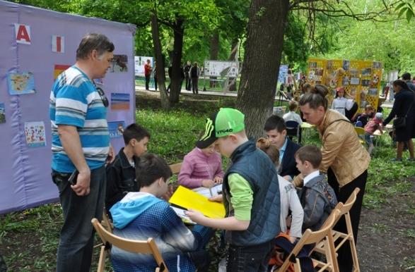 В Бахмуте прошли мероприятия по случаю Дня Европы в Украине (ФОТО), фото-5