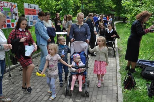 В Бахмуте прошли мероприятия по случаю Дня Европы в Украине (ФОТО), фото-1